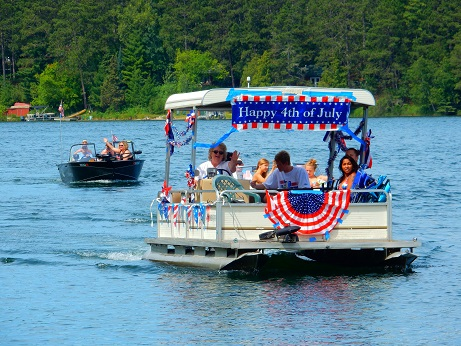4 of July Boat Parade and Gathering