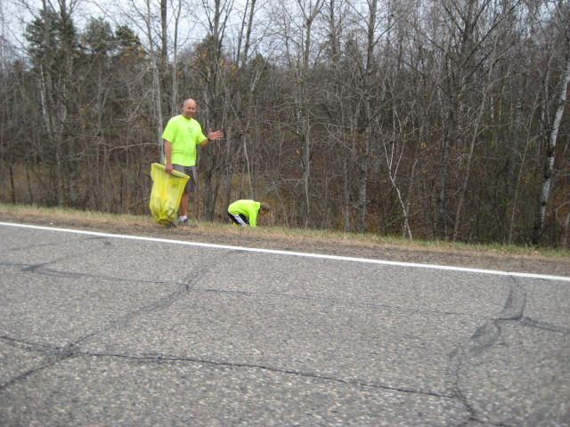 Long Lake Association Highway 20 Fall Cleanup